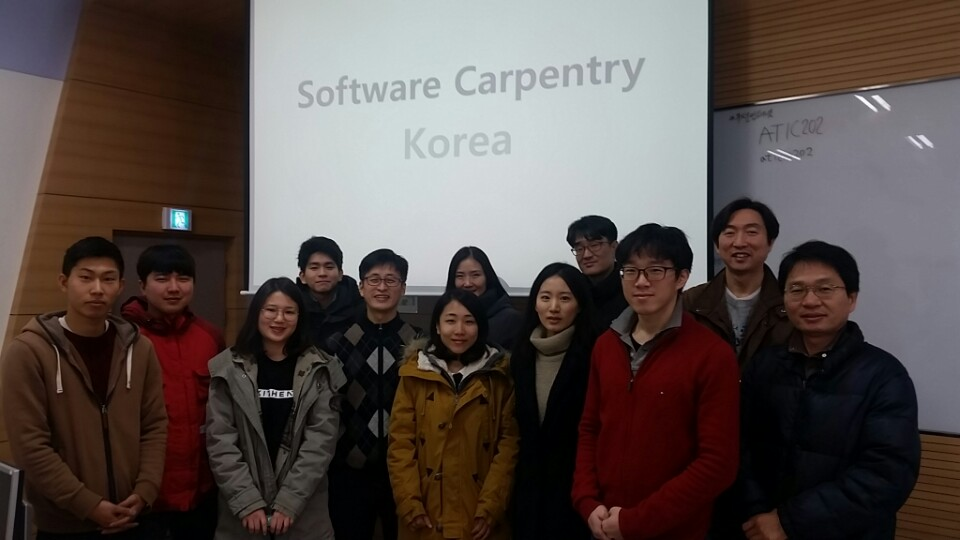 Software Carpentry Korea