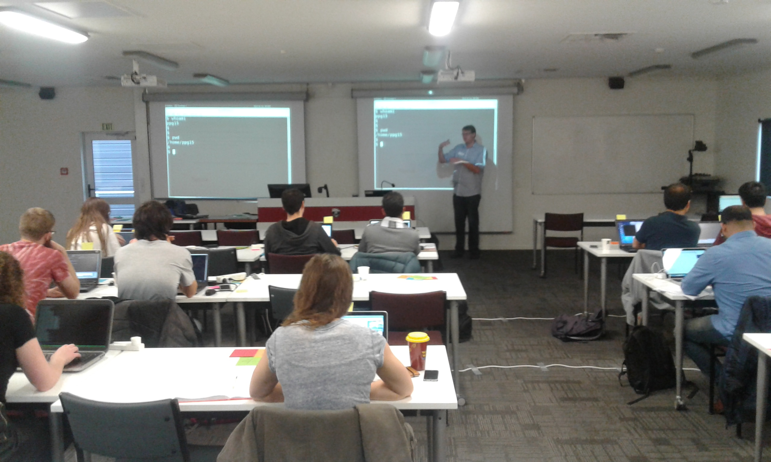 Software Carpentry Training at the University of Canterbury