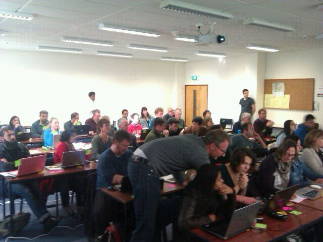 Software Carpentry Training at Palmerston North